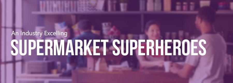 Supermarkets superheros
